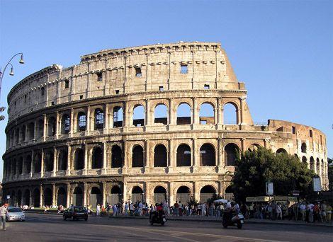 COLISEO, ROMA, ITALIA - Estima-se que o Coliseu foi construido entre 70 e 72 d.c. e que era uma arena, ou amfiteatro para 50,000 pessoas. Tambem estima-se que ele foi utilizado por 500 anos. Para visita-lo, você vai ter que ir a Roma!