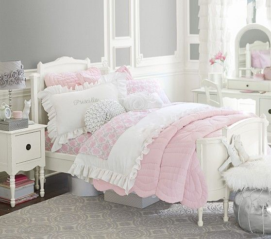 Ella Bedroom Set Pottery Barn Kids Around 1 700 For Two Mattresses And Bed Frames