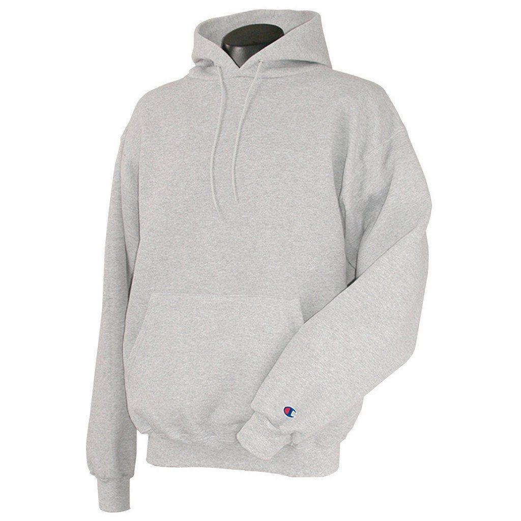 Champion Men S Silver Grey Hoodie Champion Pullover Hoodie Hoodies Grey Hoodie [ 1024 x 1024 Pixel ]