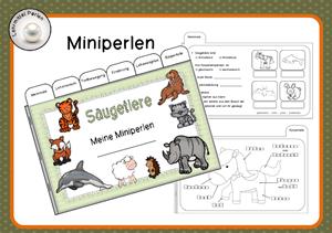 Klassifizierung Im Tierreich Miniperlen Lehrmittel Saugetiere Grundschule