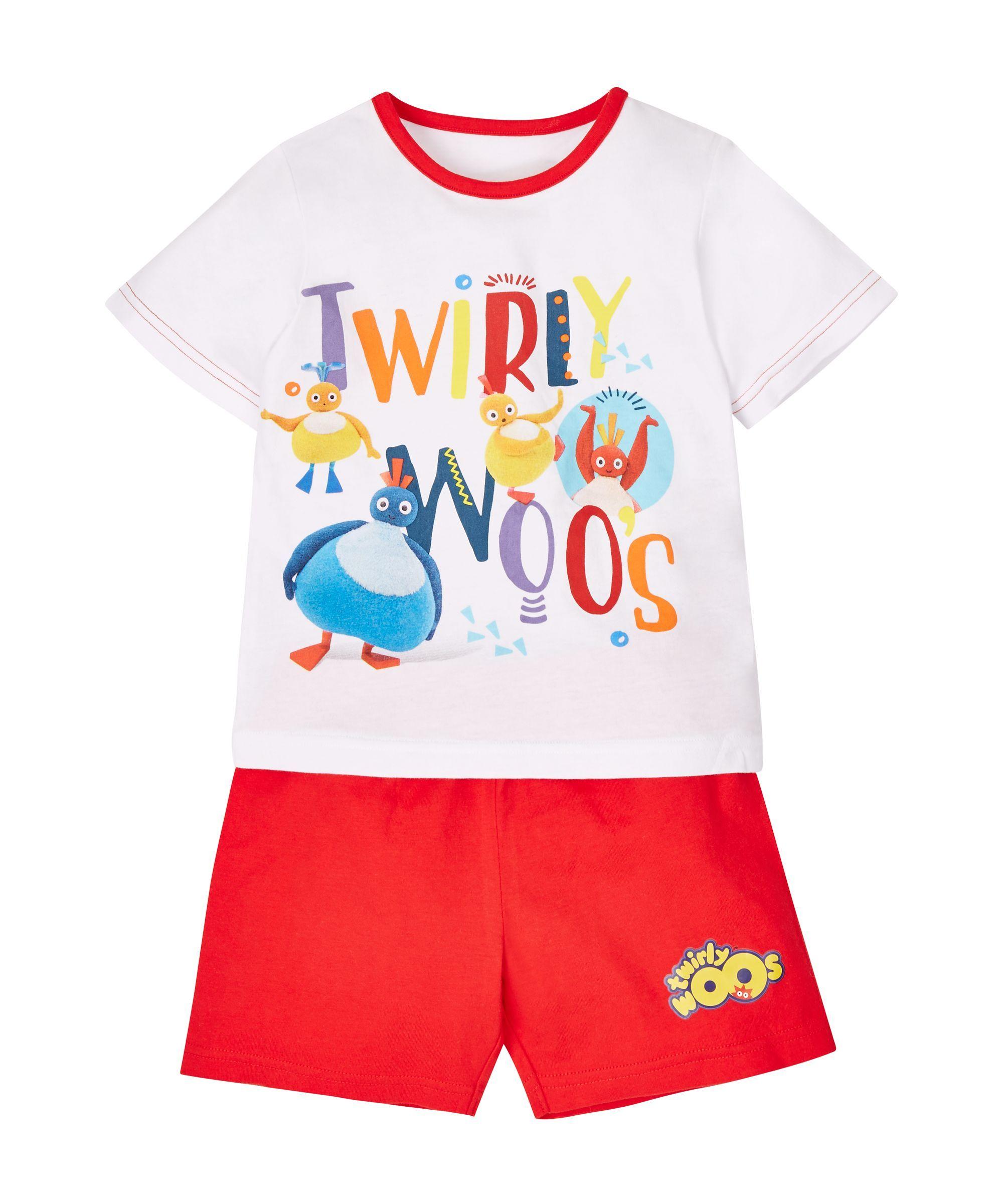 Twirlywoos Shortie Pyjamas