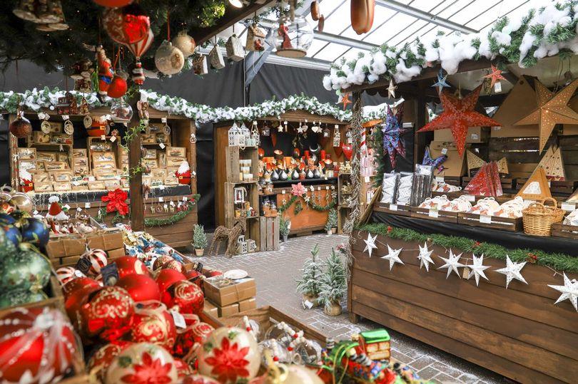 First Look Inside Essex S Huge Christmas Market Selling Winterseco Essex Live In 2020 German Christmas Markets German Christmas Christmas Market