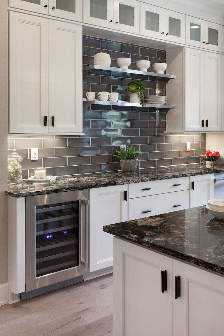 40 Luxury Kitchen Backsplash Decor Ideas Page 39 Of 40 Trendy Kitchen Backsplash Diy Kitchen Backsplash Kitchen Design