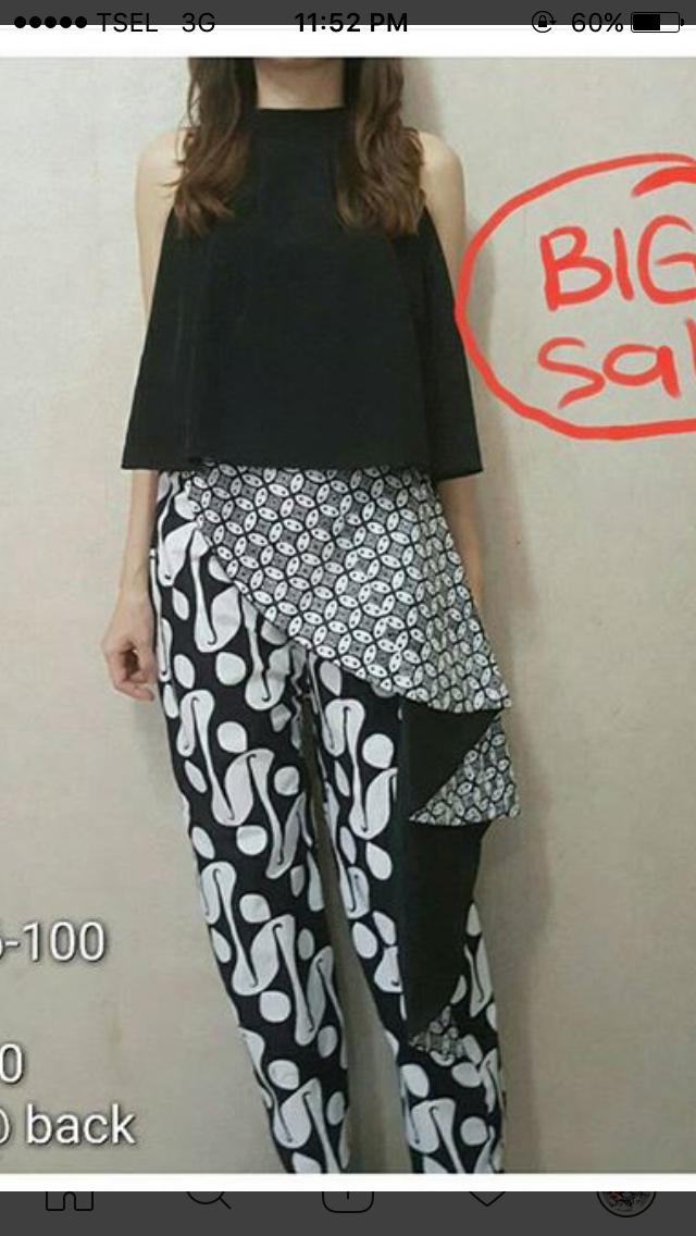 Pin Oleh Wulan Karwati Di Kulot Model Pakaian Pakaian Wanita