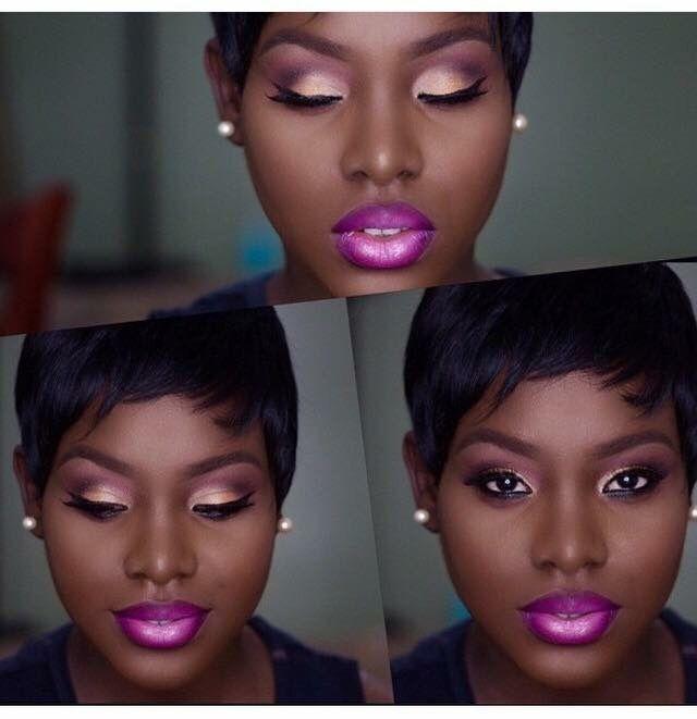 purple lipstick makeup pinterest maquillage maquillage contouring et maquillage yeux. Black Bedroom Furniture Sets. Home Design Ideas