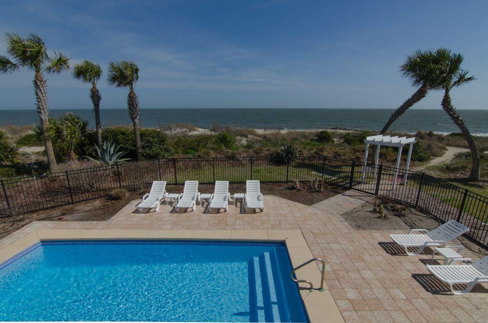 edisto beach vacation rentals with pool