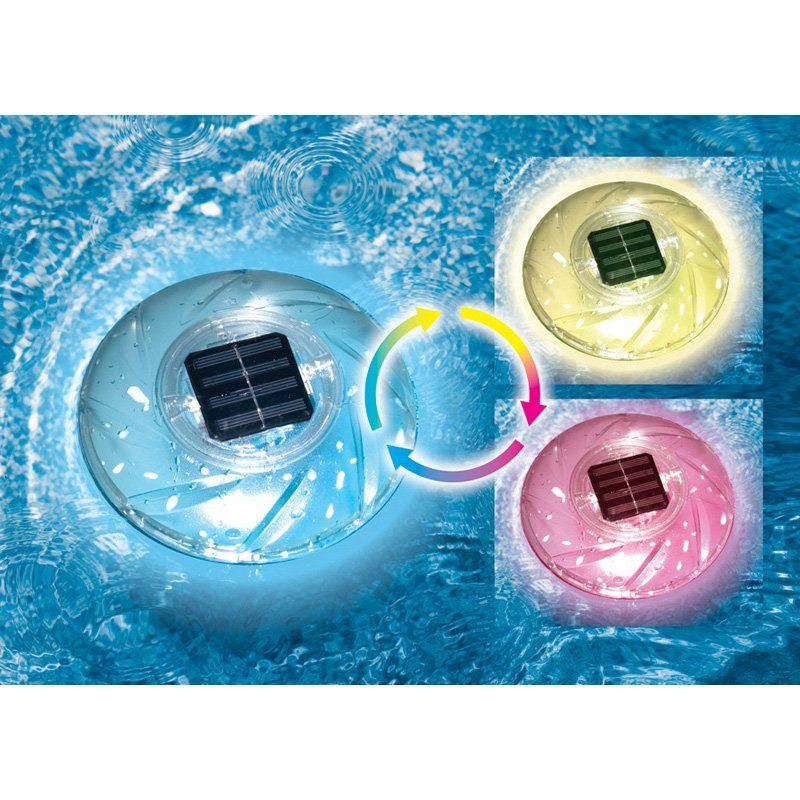 Have to have it. Swimline Color Changing Floating Solar Rainbow Light - $29.99 @hayneedle.com