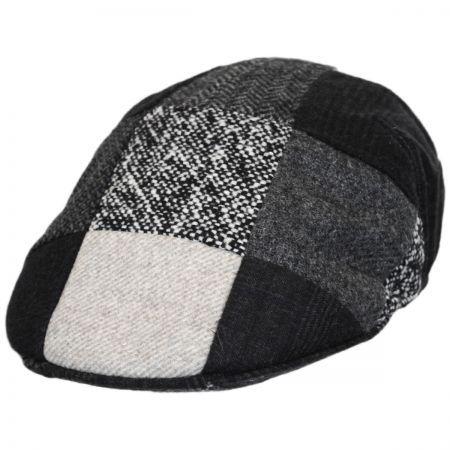Patchwork Ascot cap. available at  VillageHatShop Patchwork Designs d05120de840