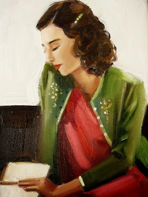 The Romance Reader by Janet Hill re-pinned by: http://sunnydaypublishing.com/books/