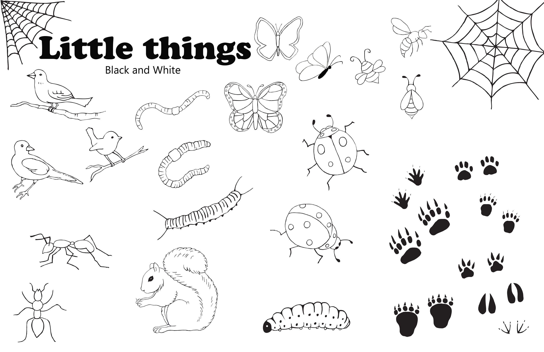 Black White Insects Bugs Butterflies Clipartdownloadable Etsy Downloadable Art Clip Art Art Teacher Resources