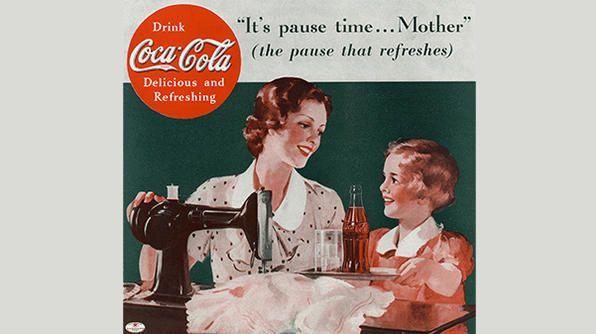 [Coke Code 343] 우리나라에 어버이날이 있다면? 미국엔 어머니의 날(5월 둘째주 일요일), 아버지의 날이 따로 있답니다!1936년 코카-콜라 광고 속 어머니에게 코카-콜라와 함께 휴식을 선물하는 아이, 기특하지 않으세요~^^?