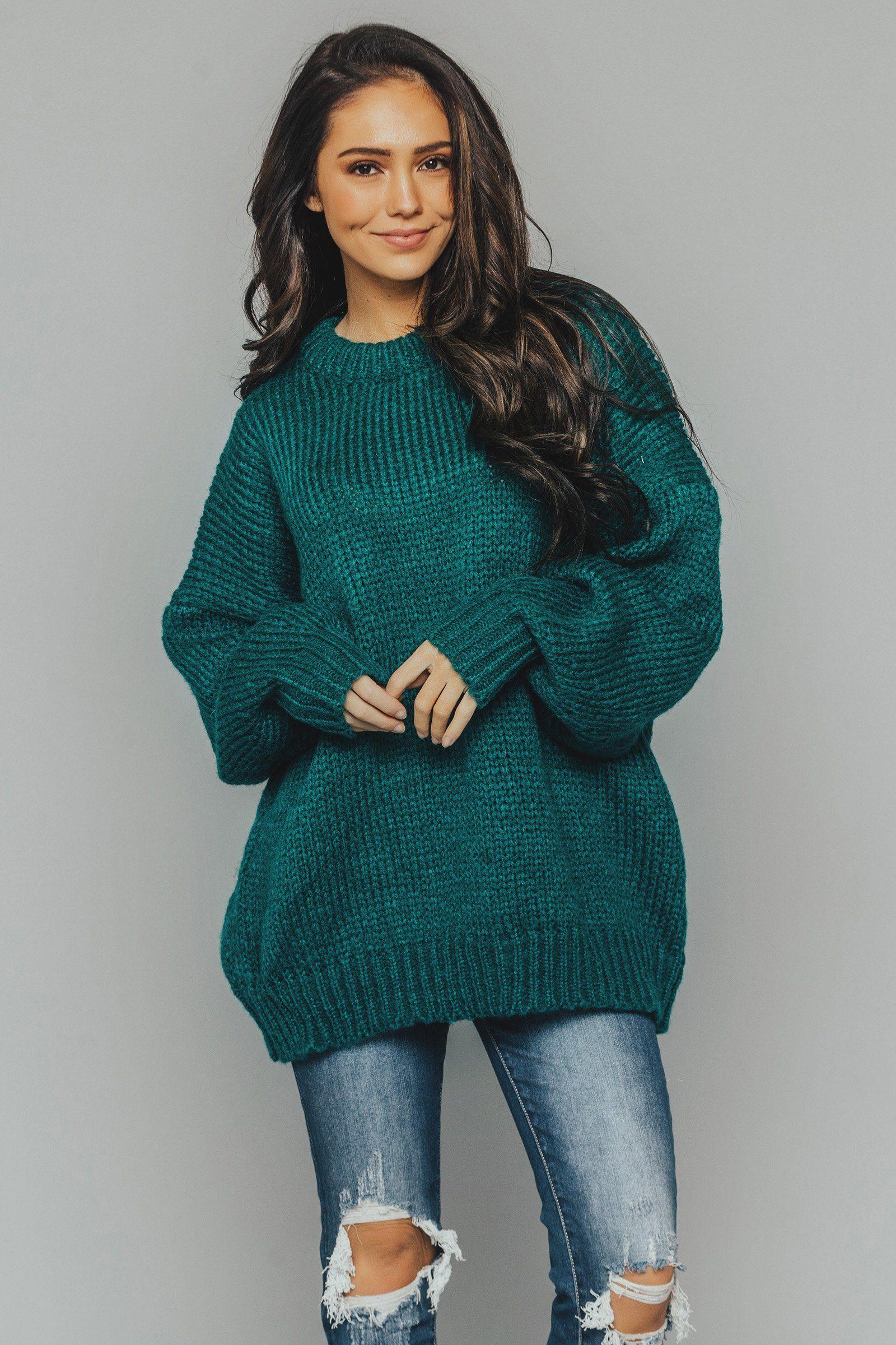 Malina Chunky Knit Sweater 8