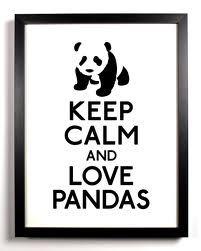 and love pandas
