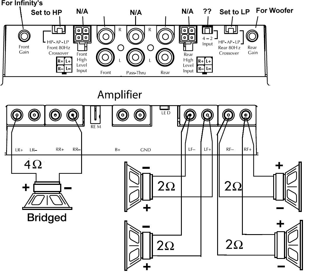 9 References Of Wiring Diagram Car Amplifier Technique Bacamajalah Car Amplifier Amplifier Car Audio Systems