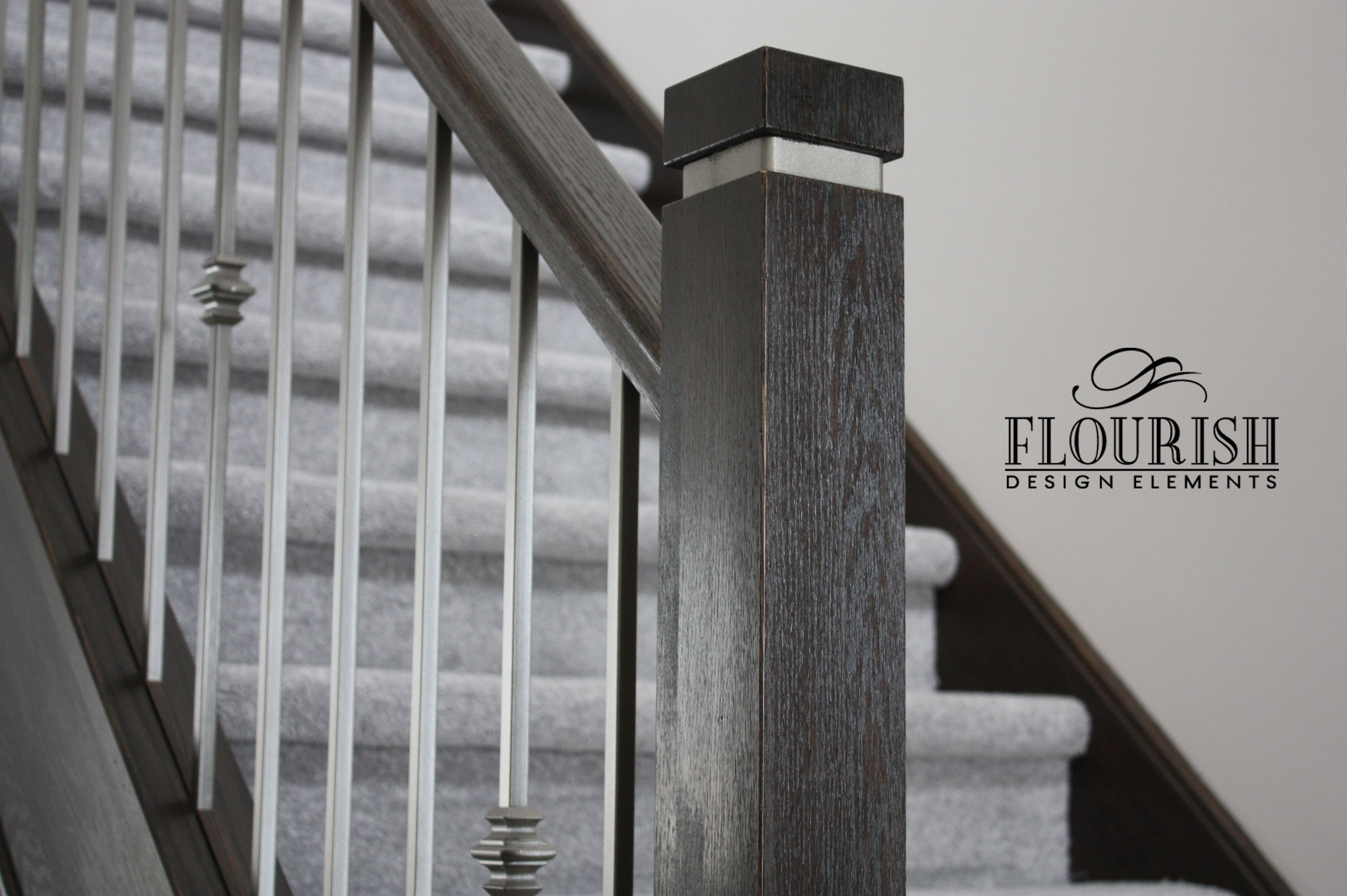 Newel Post Cap Metal Google Search Home Stair Newel