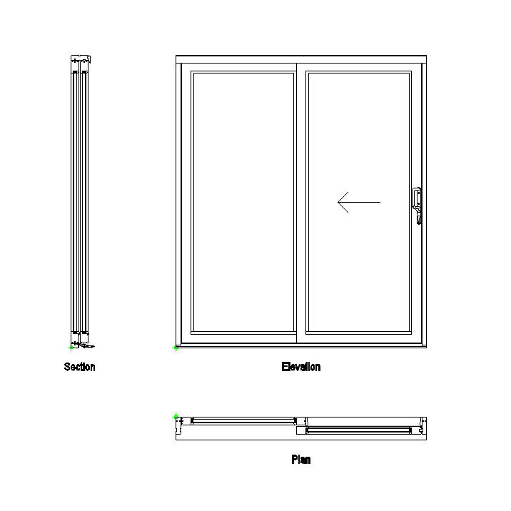 Sliding Patio Doors Elevation Google Search