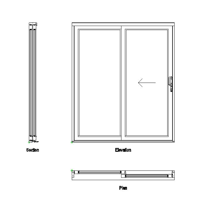 Sliding Patio Doors Elevation Google Search Sliding Glass Door Sliding Doors Sliding Cabinet Doors