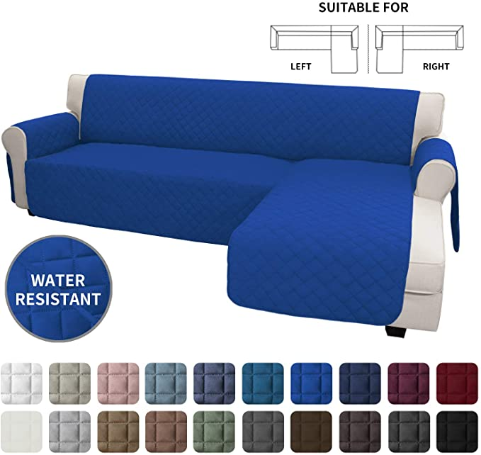 Amazon Com Easy Going Sofa Slipcover L Shape Sofa Cover Sectional Couch Cover Chaise Lounge Slip Cover Rev In 2020 Sectional Couch Cover L Shaped Sofa Sectional Couch