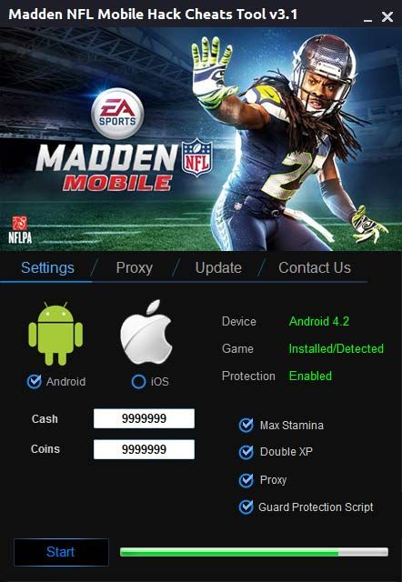 madden nfl mobile hack tool cheats no survey or password for free