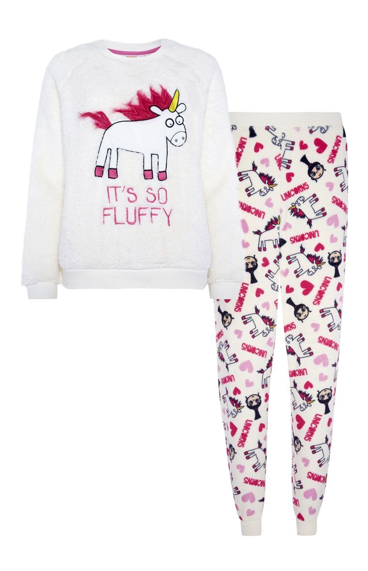 Primark - Pyjamaset It s so fluffy fleece Primark Pyjamas 3d8e7b81c