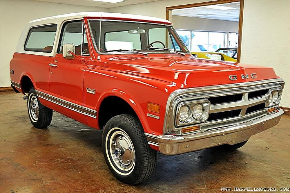 My First Truck 1970 Gmc Jimmy I Want To Own It Again Gmc