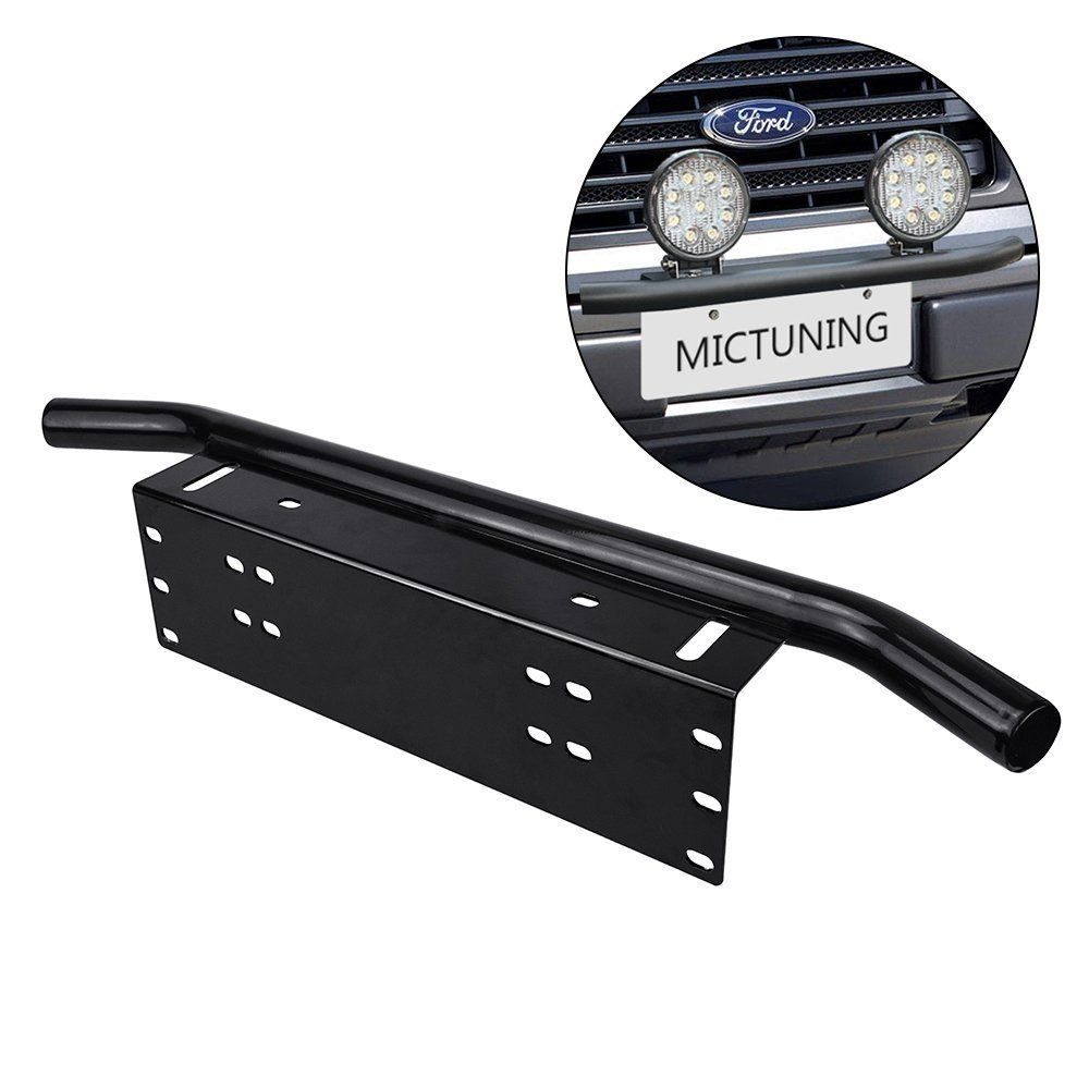 Amazon Com Mictuning Universal License Plate Mounting Bracket W
