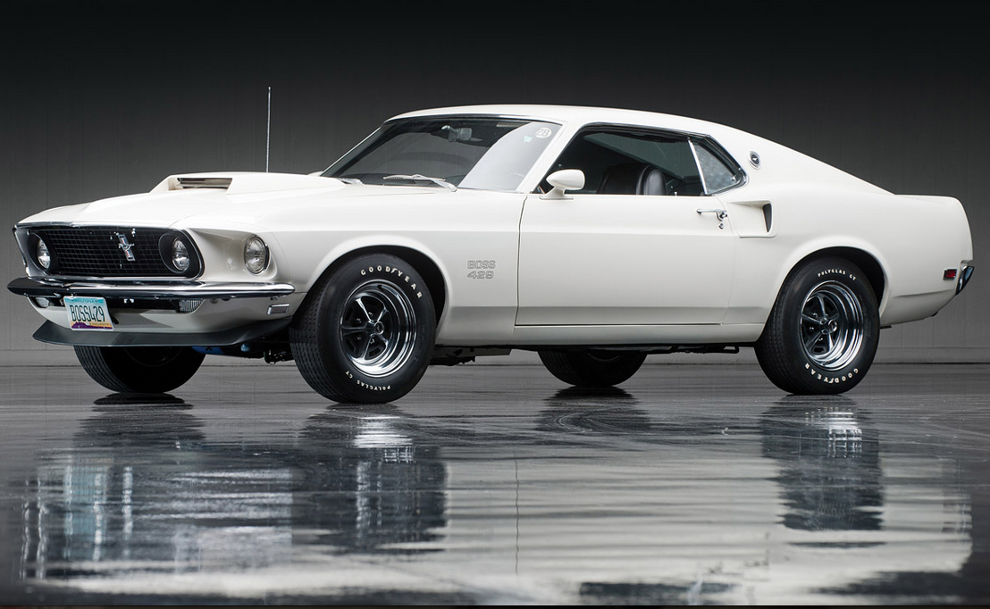 details about 1969 ford mustang boss 429 automotive. Black Bedroom Furniture Sets. Home Design Ideas