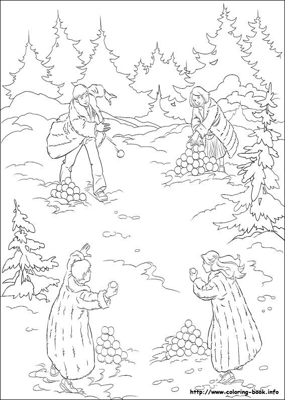 The chronicles of Narnia coloring picture | Narnia Party Ideas ...