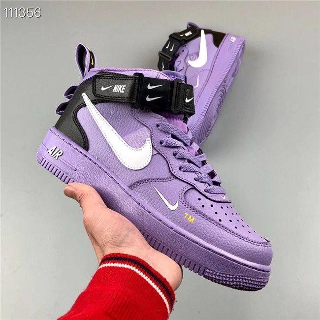 Nike Air Force 1 High 07 shoes purple