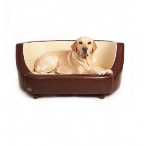 Chester & Wells Oxford Dog Bed (Chestnut Beige) - Jolly & Bea's Dog & Cat Accessories