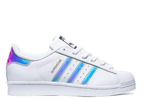 d9faee85d1 Adidas-Superstar-GS-White-Metal-Silver-Juniors-Womens-Girls-Boys-Trainers