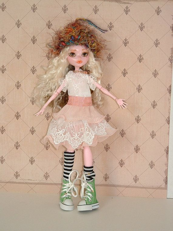 STEFFI  an OOAK  Monster High Doll repaint in by ArtDollsHatsetc, $85.00