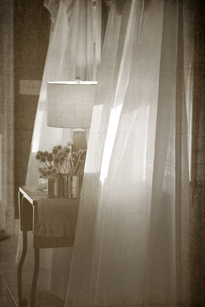 cool breeze blowing through the window | ... windows in the foyer. And, the curtains were blowing in the breeze. It