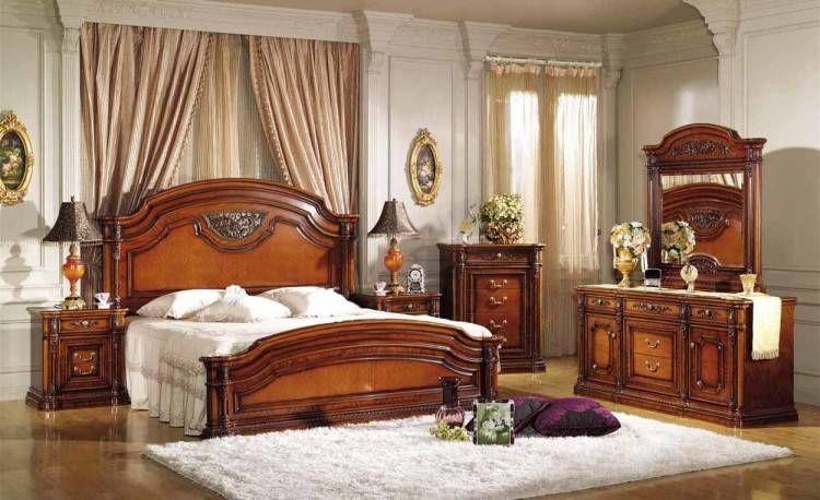 chambre a coucher en bois moderne