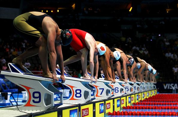 olympic swimming team trials day 7 swimmers take your mark - Olympic Swimming Starting Blocks