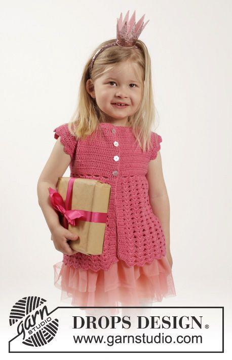 Ganchillo Lovely 1 Rose Con Children 26 Chaqueta A Drops 0w0HIqr