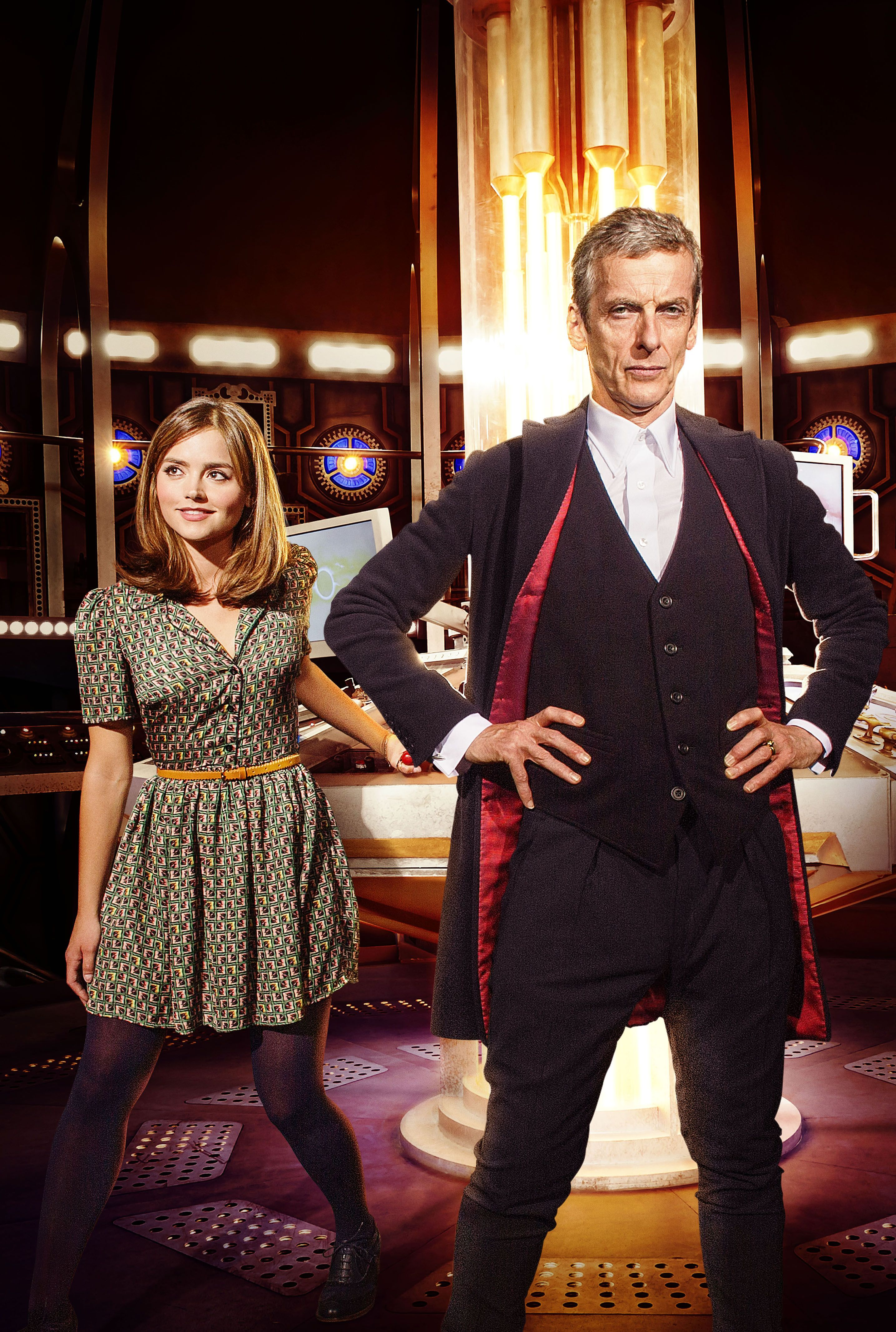 Doctor who twelve and clara doctor who series 8 new