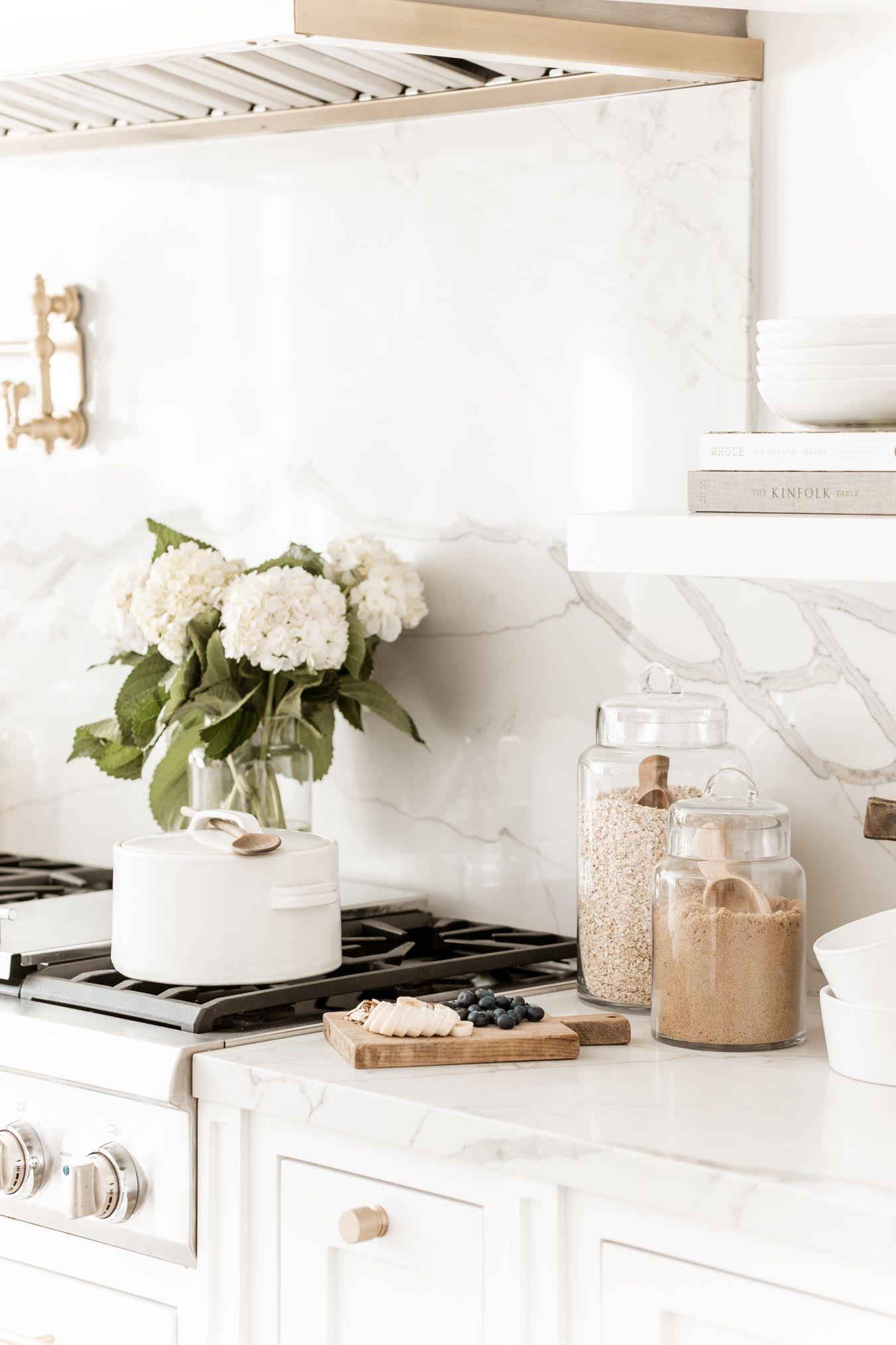 Mason Jar Spoon Rest White Stove Kitchen Counter Home Decor Baking Cooking New