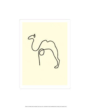 The CamelBy Pablo Picasso   Serigrafía, Arte y Dibujos ...