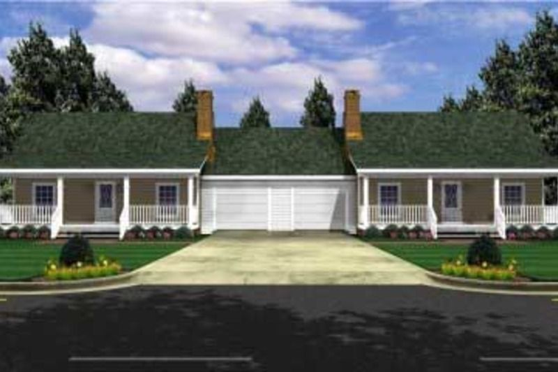 Ranch Style House Plan 1 Beds 1 Baths 1200 Sq Ft Plan 21 128