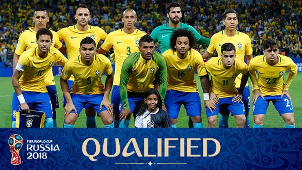 Brazil Team Squad In Fifa World Cup 2018 Brazil World Cup Brazil Team Russia World Cup