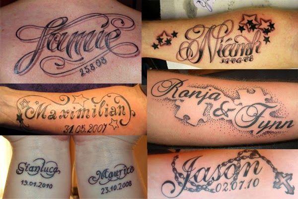 Namen Tatoos