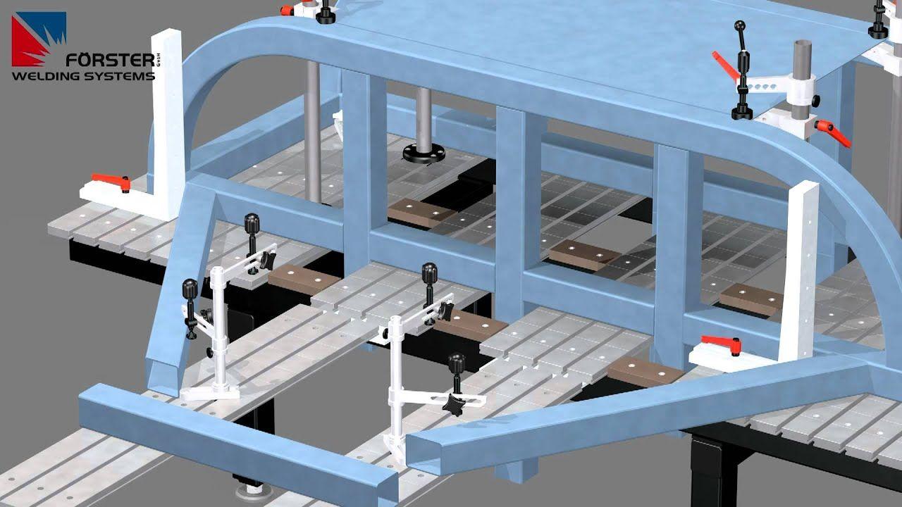 WELDING TABLE SYSTEM 3D WELDING TABLE MODULAR WELDING
