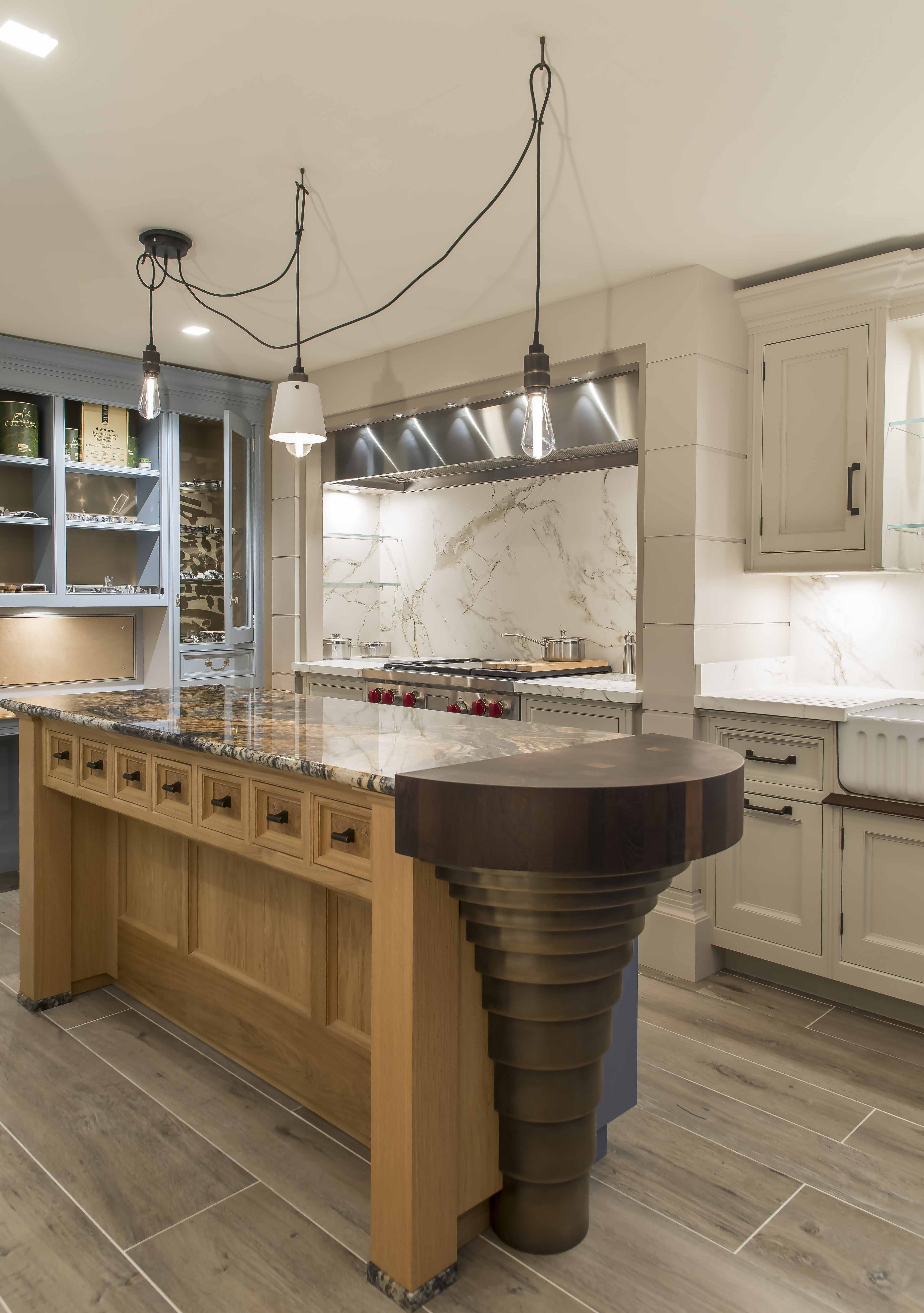 This kitchen is in the chiselwood showrooms and is creating quite a