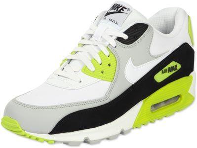 Nike Air Max 90 LE Schuhe grün weiß schwarz | Nike air max