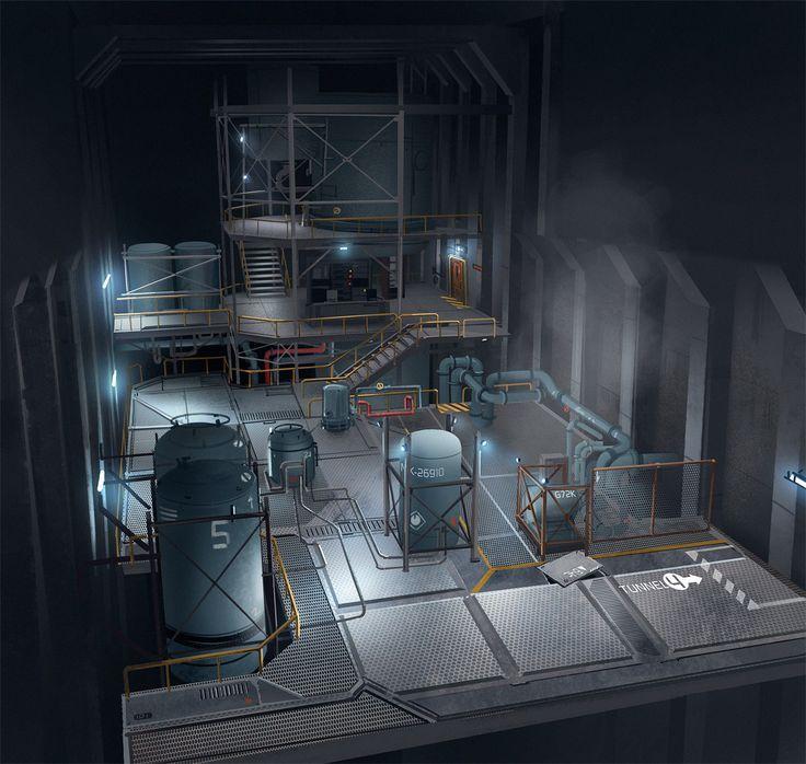 Underground Bunker Science Lab Google Search Mad