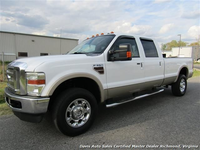 2010 Ford F 350 Super Duty Lariat Diesel Crew Cab Long Bed