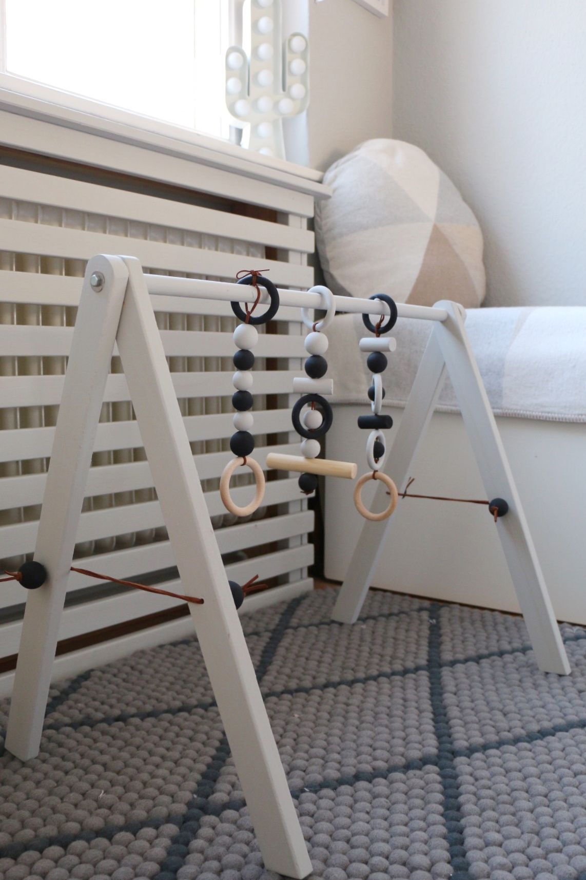DIY Wooden Baby Gym – Babygym aus Holz im skandinavischen Design | Craft