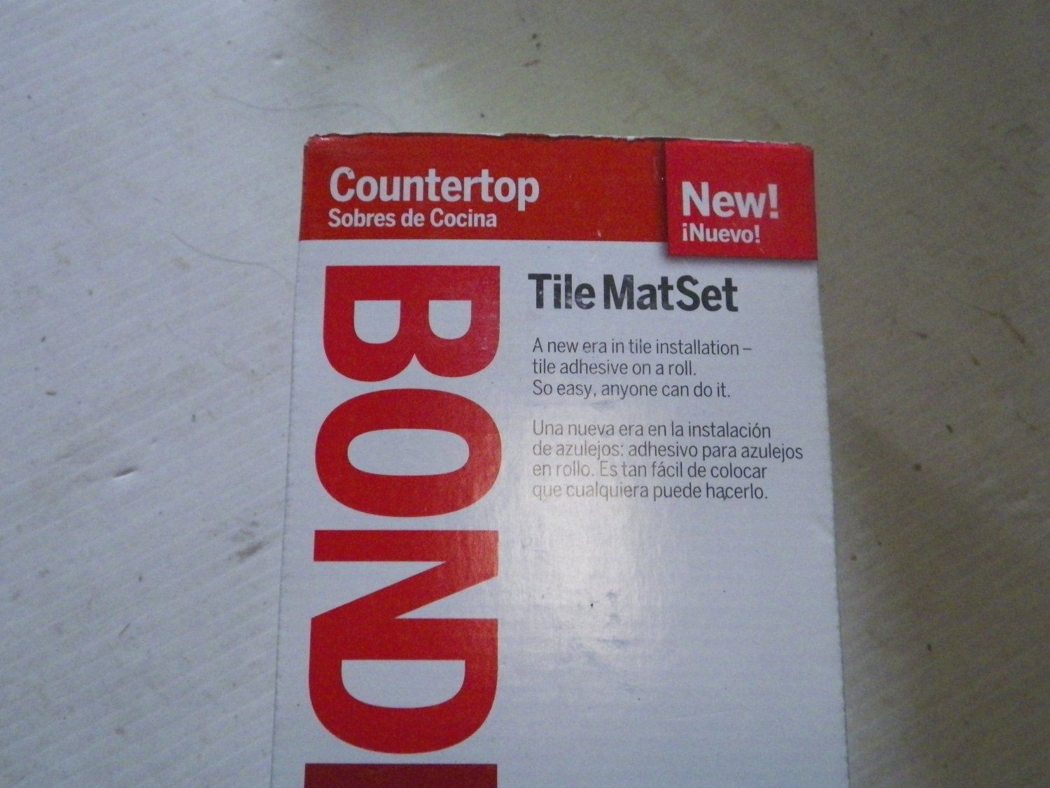 BONDERA 16-in Countertop Tile Mat Set Item#4330 Model#BON-CT-16 UPC#048444001689