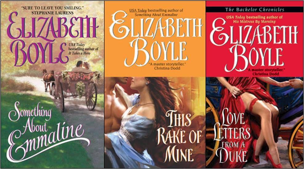 Book #1 Synopsis :http://www.elizabethboyle.com/emmaline.php Book #2 Synopsis :http://www.elizabethboyle.com/rake.php Book #3 Synopsis :h...